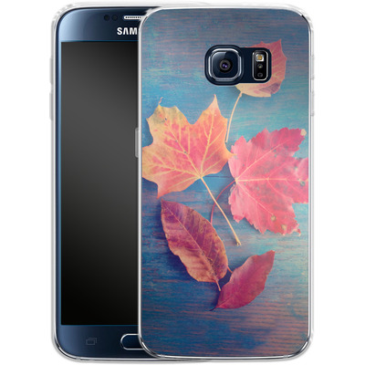 Samsung Galaxy S6 Silikon Handyhuelle - The Colors Of Autumn von Joy StClaire