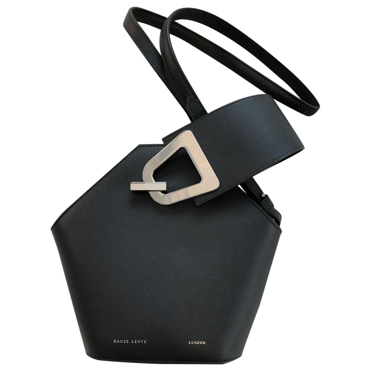 Danse Lente \N Navy Leather handbag for Women \N