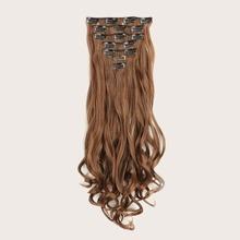 16 Stuecke Haarperuecke mit Klammer