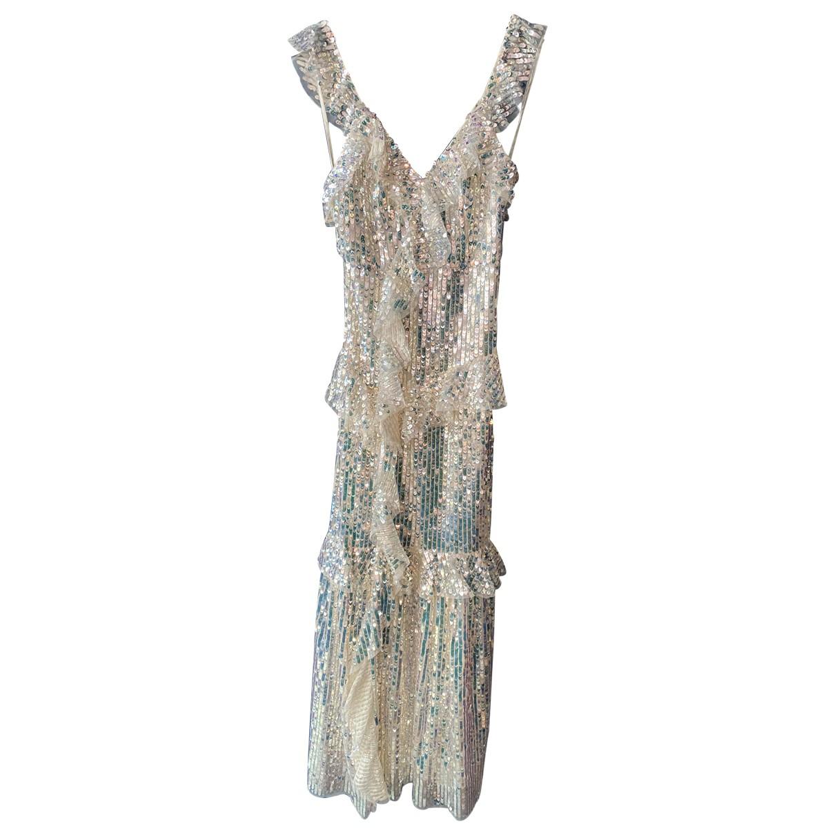 Maxi vestido de Con lentejuelas Needle & Thread