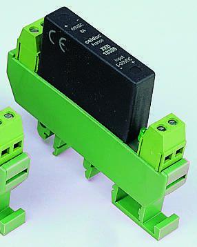 Celduc 4 A Solid State Relay, Zero Crossing, DIN Rail, Triac, 440 V rms Maximum Load