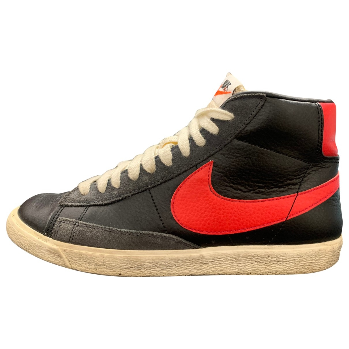 Nike Blazer Black Leather Trainers for Women 40 EU