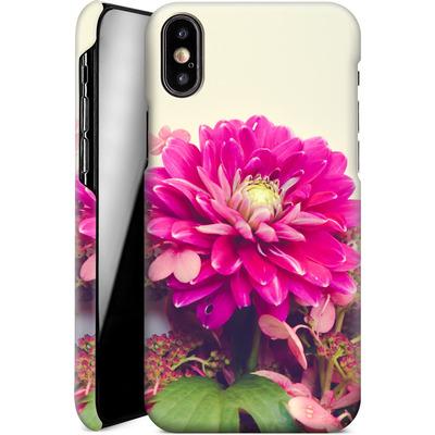 Apple iPhone XS Smartphone Huelle - Pink Dahlia 2 von Joy StClaire