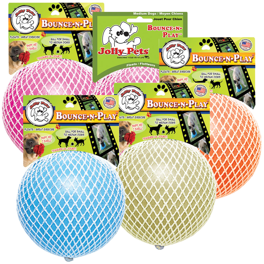 Jolly Pets Jolly Bounce-N-Play Dog Toy 6
