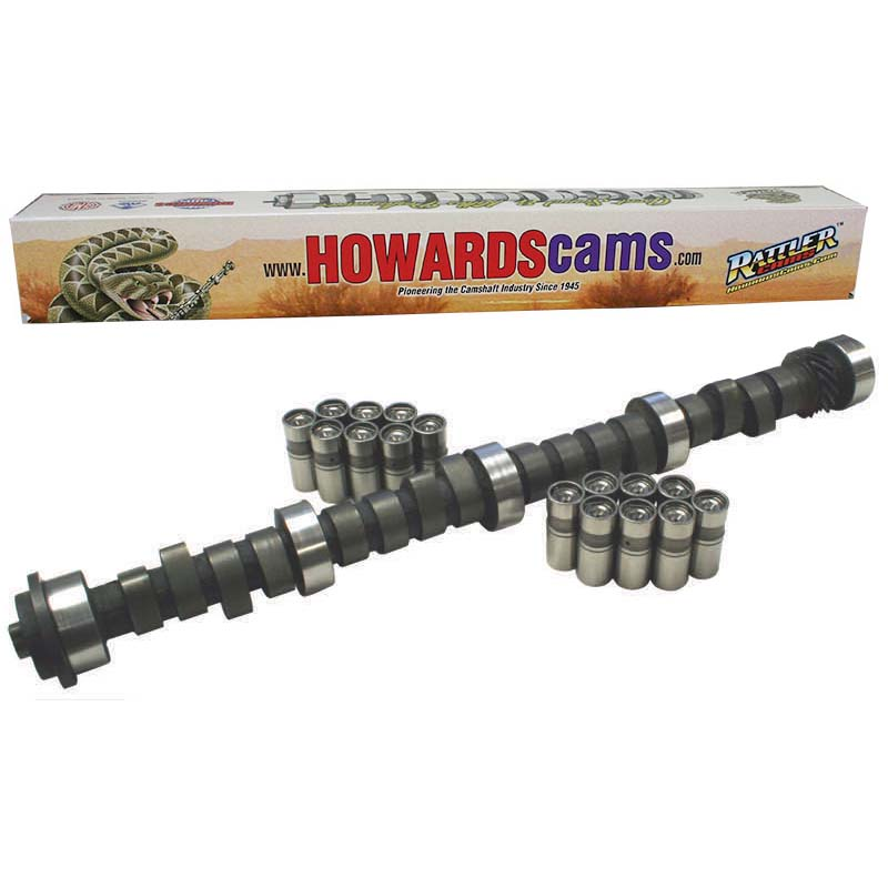 Hydraulic Flat Tappet Rattler Camshaft & Lifter Kit; 1967 - 1990 Oldsmobile 260-455 1800 to 5200 Howards Cams CL518021-09 CL518021-09