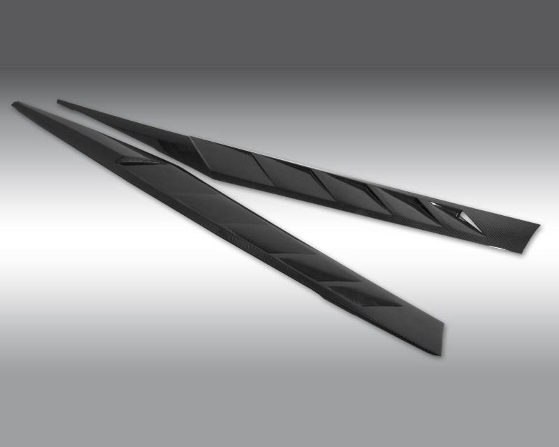 Novitec L6 111 76 Torado Matte Carbon Fiber Side Skirts  Lamborghini Aventador LP 750-4 SV   SV Roadster 16-20