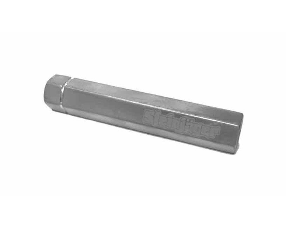 Steinjager J0019081 End LInks and Short LInkages Threaded Tubes M10 x 1.50 130mm Long Gray Hammertone Powder Coated Aluminum Tube