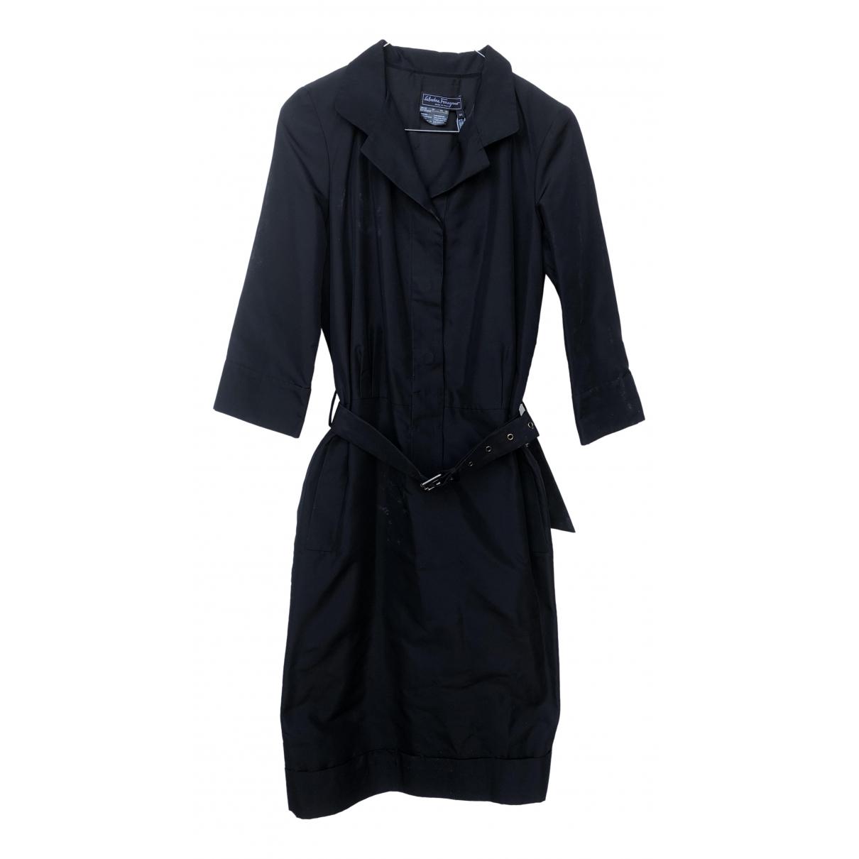 Salvatore Ferragamo \N Black dress for Women 40 IT