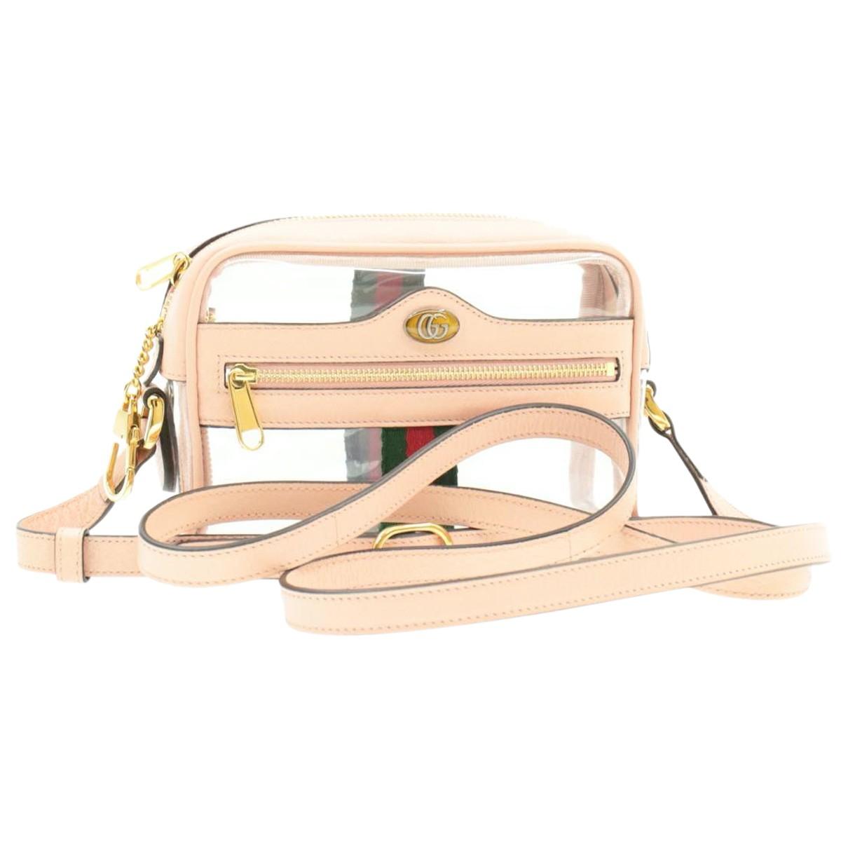 Gucci \N Handtasche in  Rosa Kunststoff