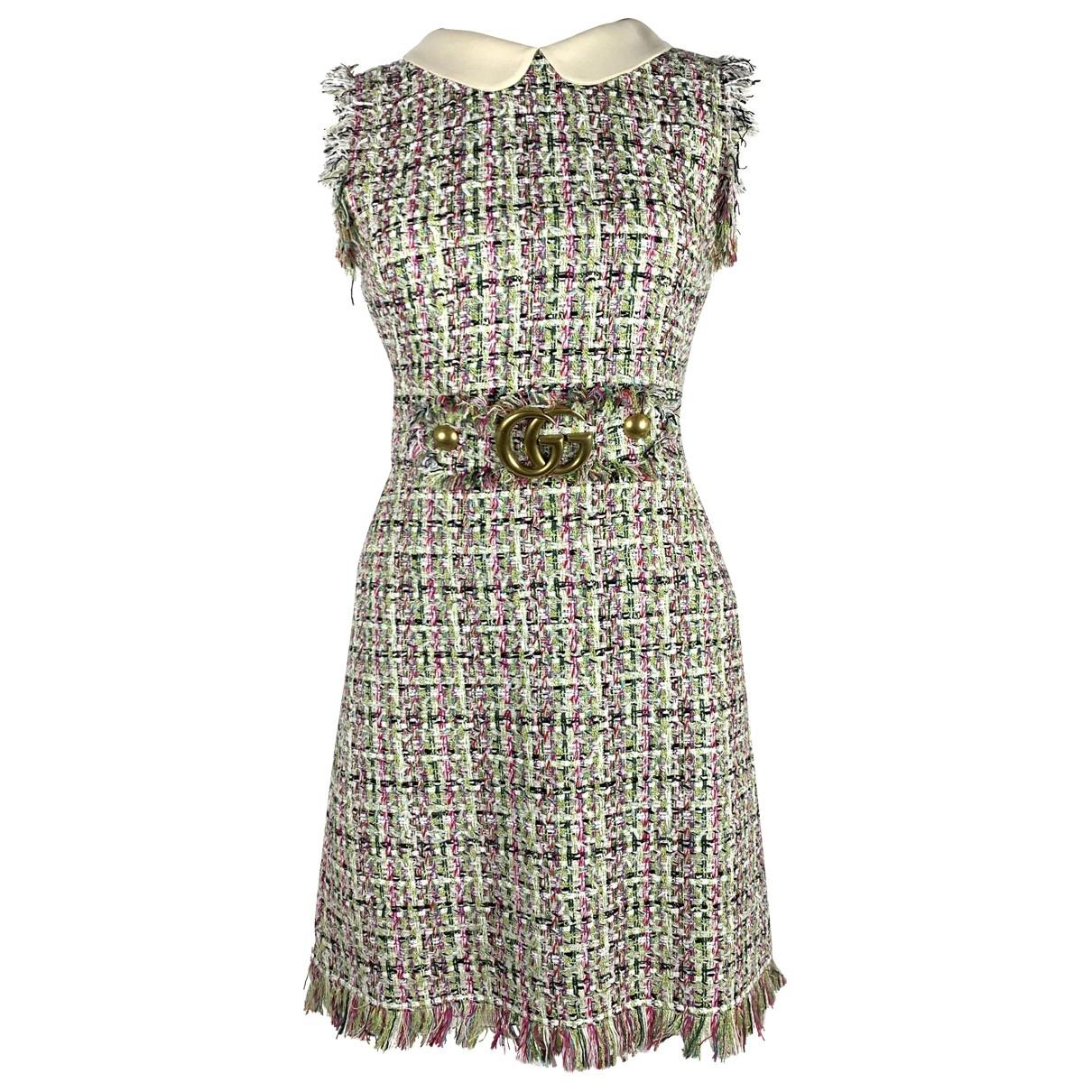 Gucci \N Beige Cotton dress for Women 40 IT