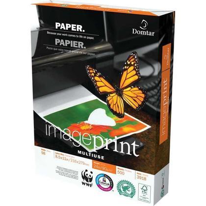 Domtar@ImagePrint@ Multipurpose Paper, 24lb. letter size - 500/pack 285122