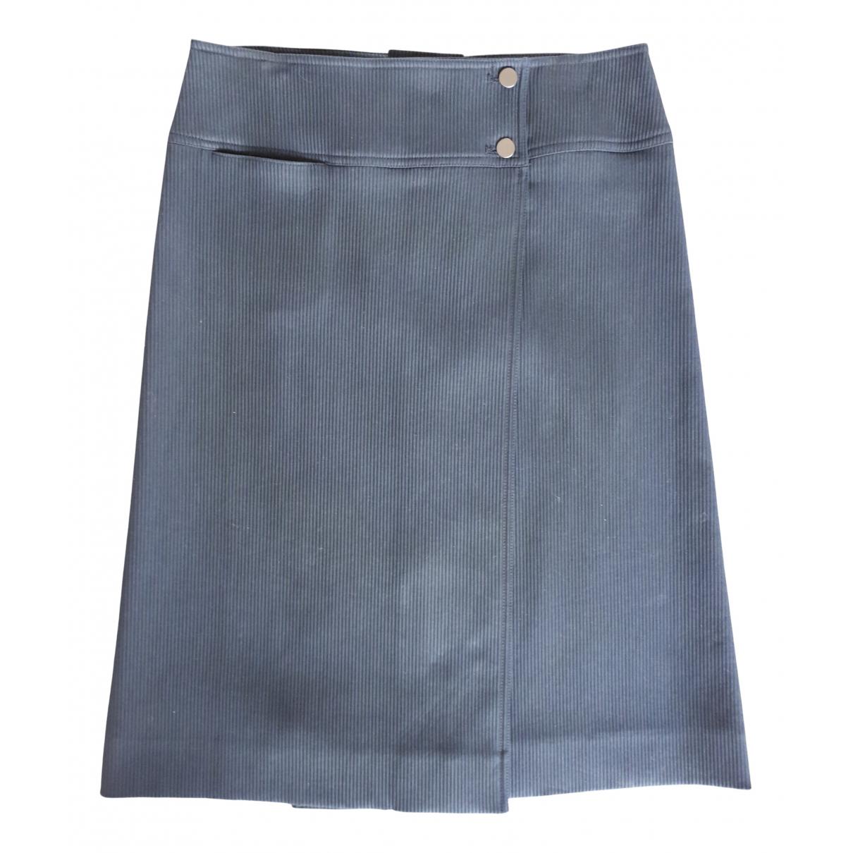 Givenchy - Jupe   pour femme en coton - marine