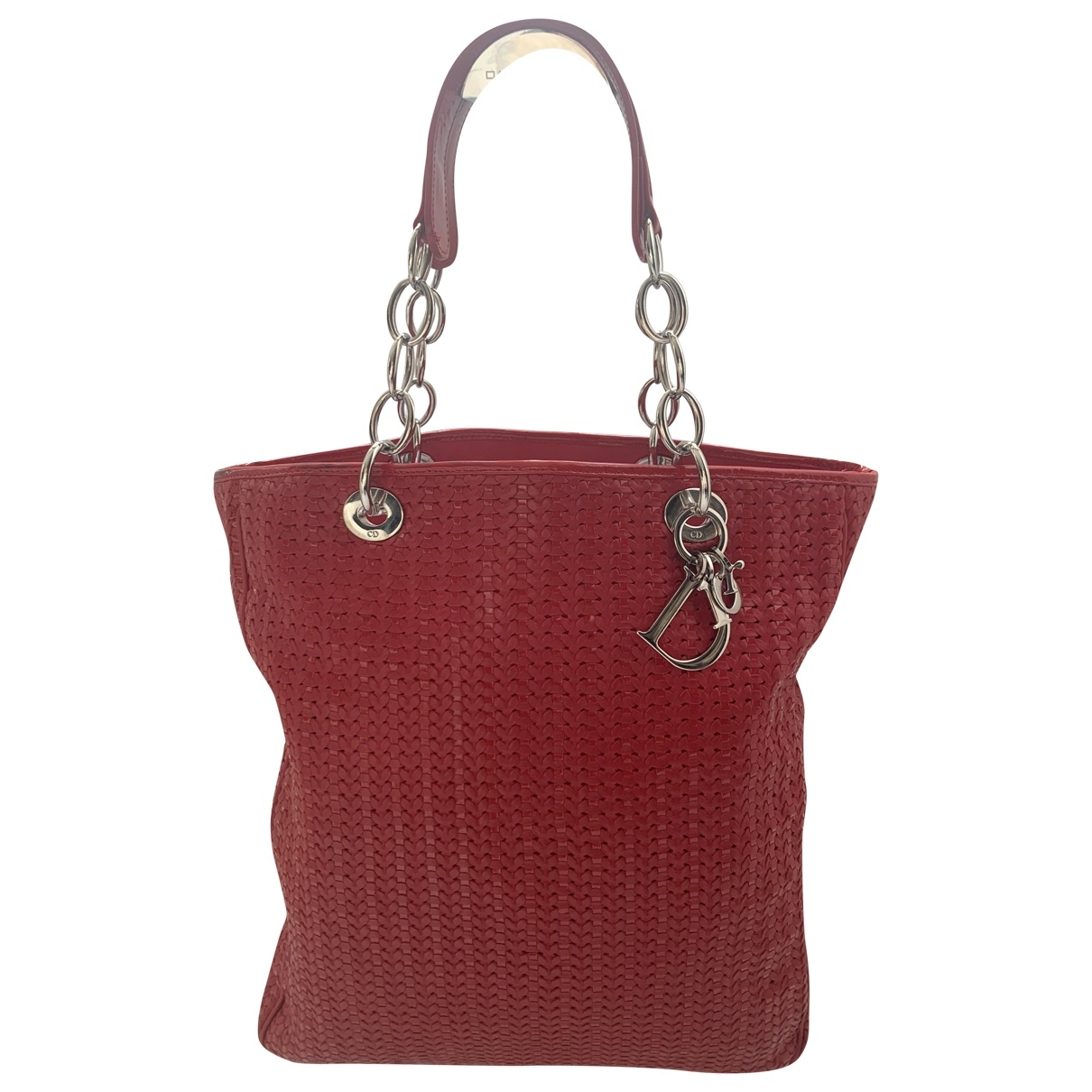 Dior Dior Soft Shopping Red Leather handbag for Women \N