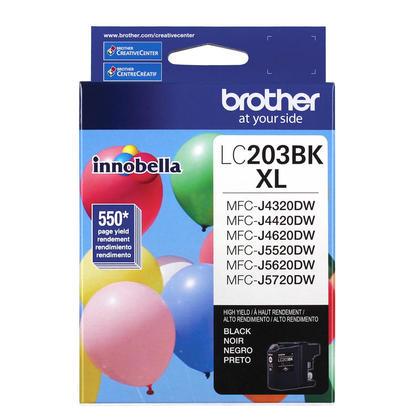 Brother LC203BK XL Original Innobella Black Ink Cartridge, High Yield