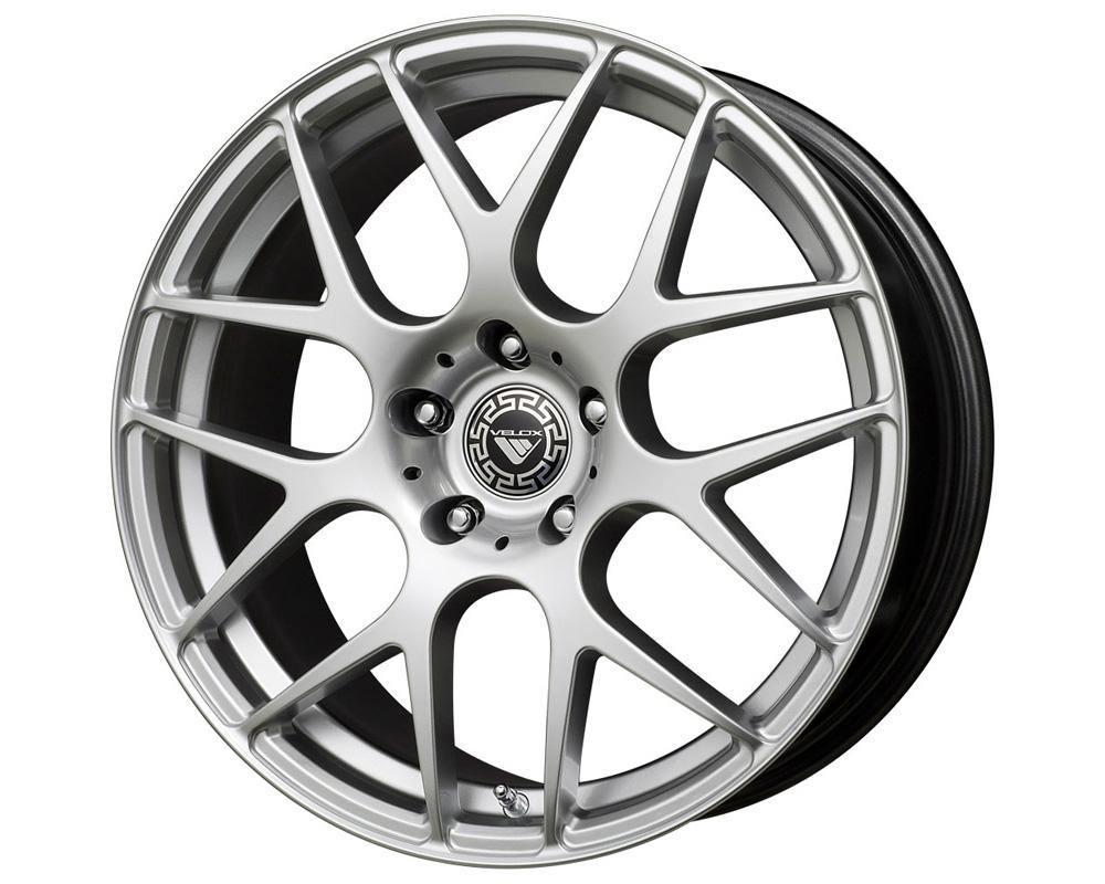 Velox Apex Hyper Silver Wheel 17x7.5 5x108/115 40