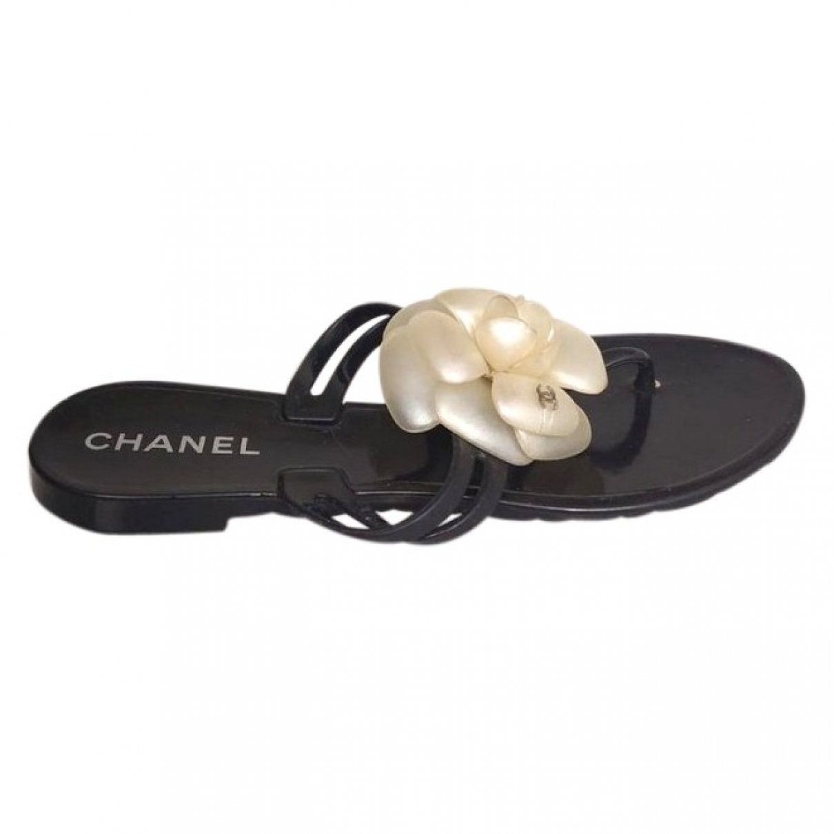 Chanel \N Black Sandals for Women 36 EU