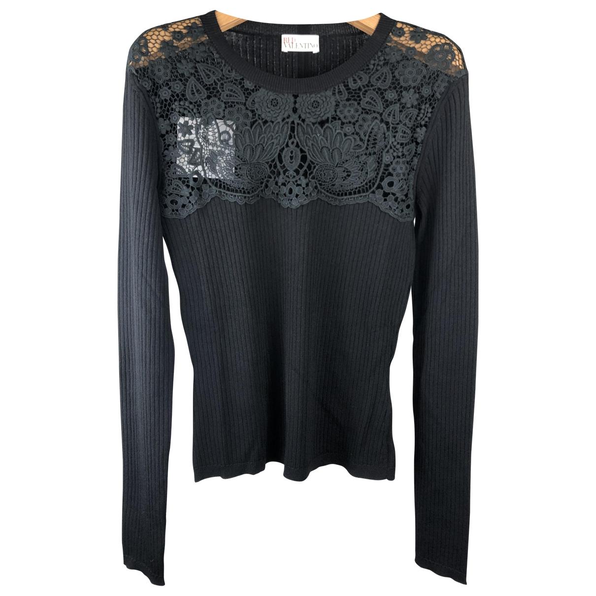 Red Valentino Garavani \N Black Knitwear for Women XL International