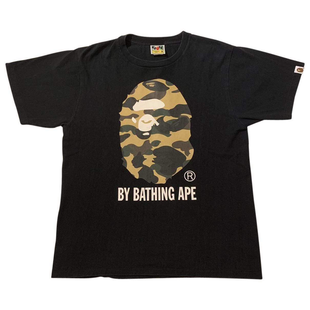 A Bathing Ape - Tee shirts   pour homme en coton - noir