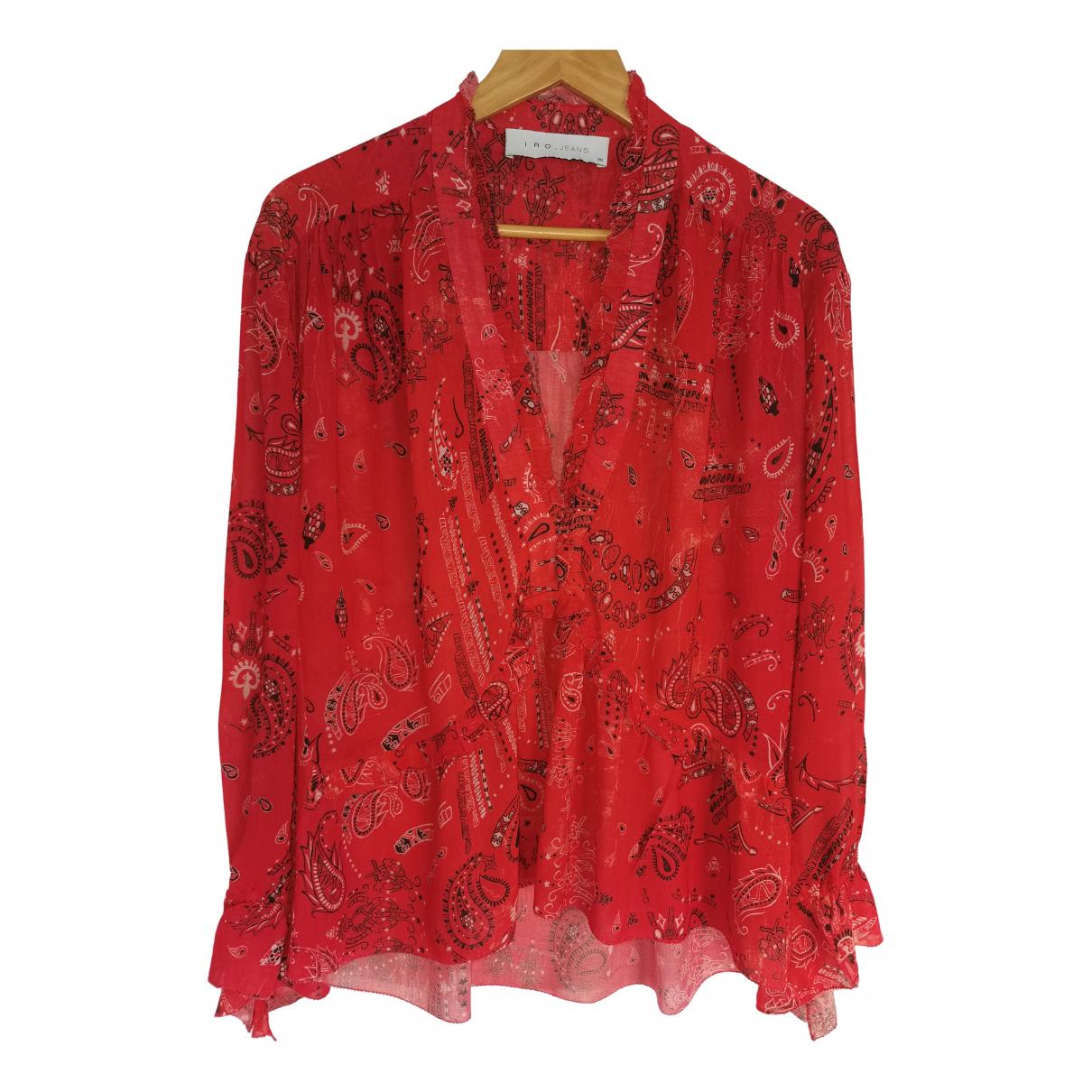 Iro - Top   pour femme - rouge