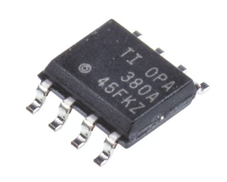 Texas Instruments OPA380AID , Transimpedance Amplifier 3 V, 5 V 90MHz 8-Pin SOIC