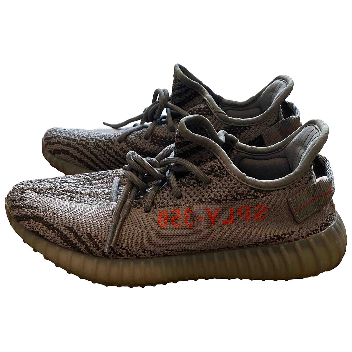 Yeezy \N Sneakers in  Grau Polyester