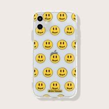 Funda de iphone con patron de sonrisa