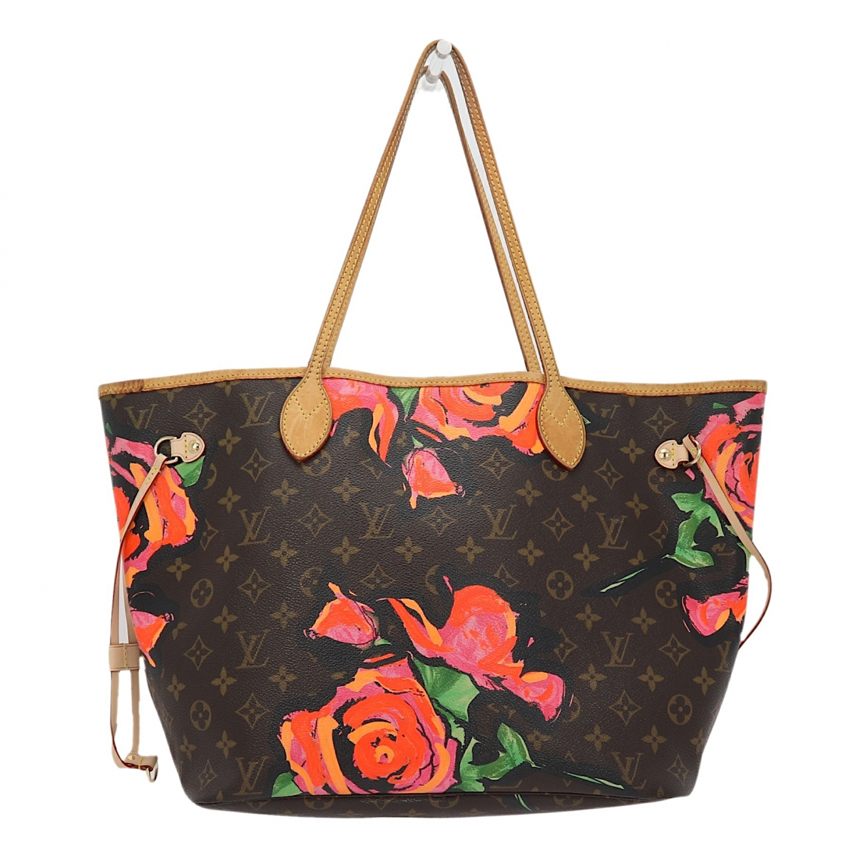 Louis Vuitton Neverfull Brown Cloth handbag for Women N
