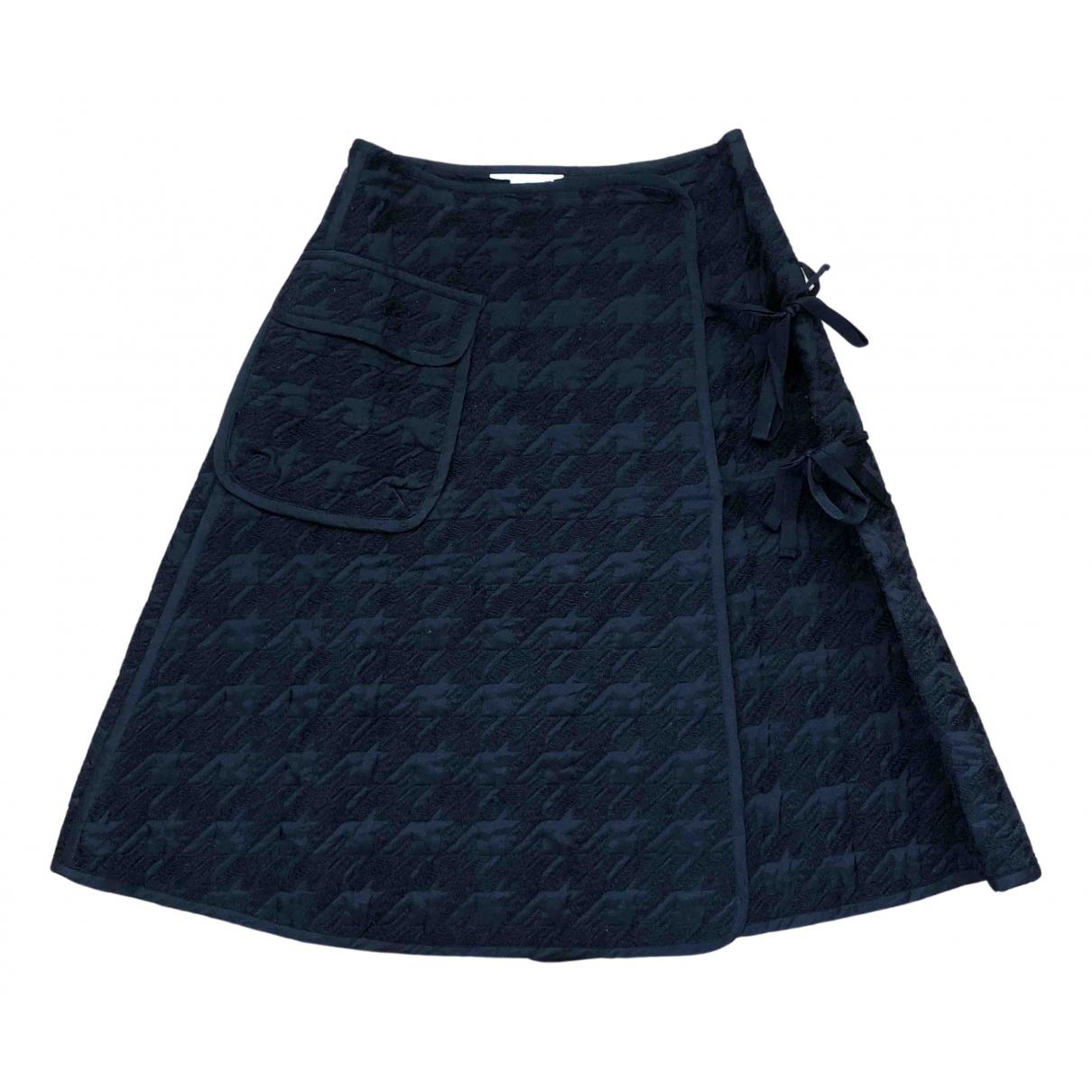 Noir Kei Ninomiya - Jupe   pour femme en coton - noir