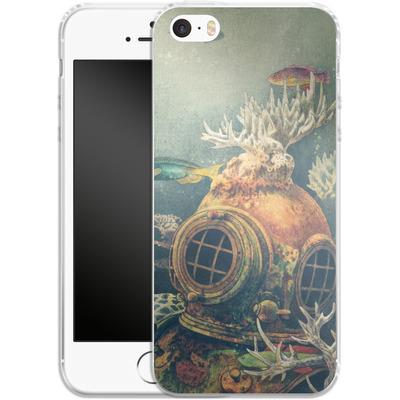 Apple iPhone 5s Silikon Handyhuelle - Sea Change von Terry Fan