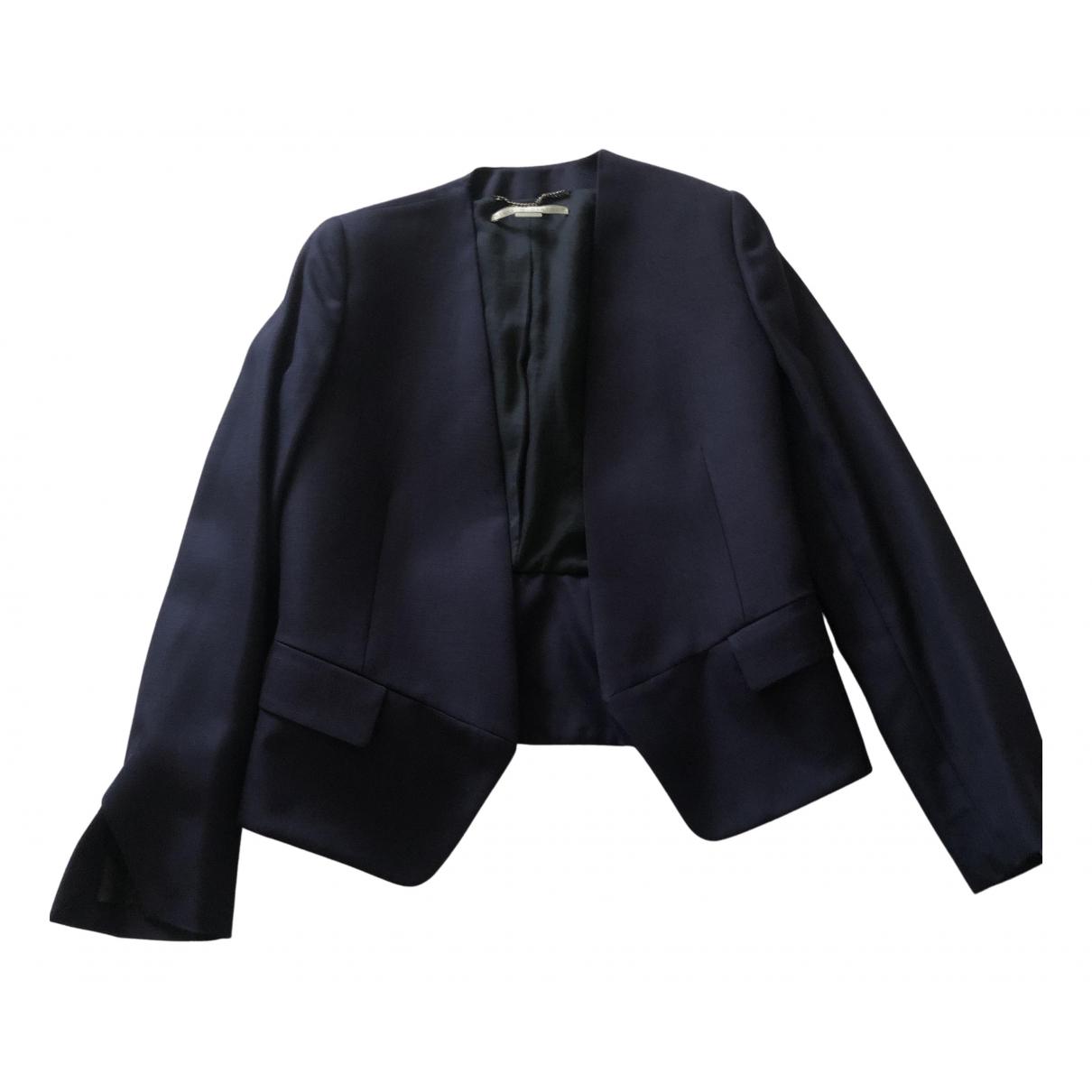 Stella Mccartney N Navy Linen jacket for Women 38 IT