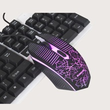 Wired Graphic Glowing Mouse