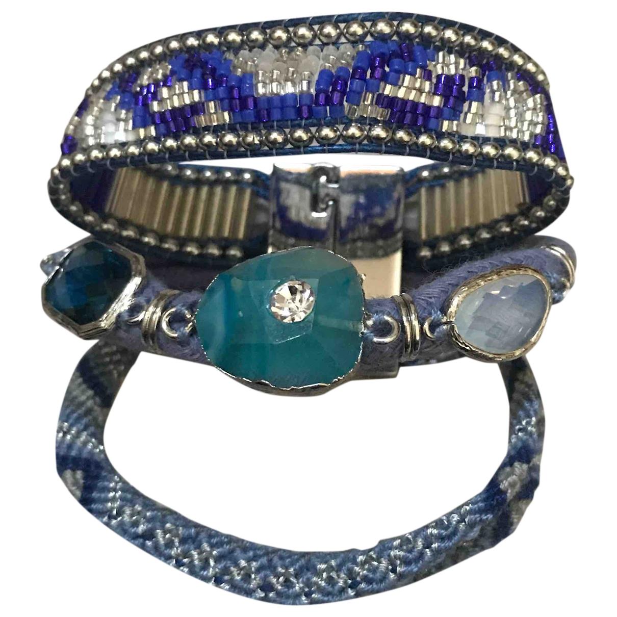 Hipanema \N Armband in  Blau Perle