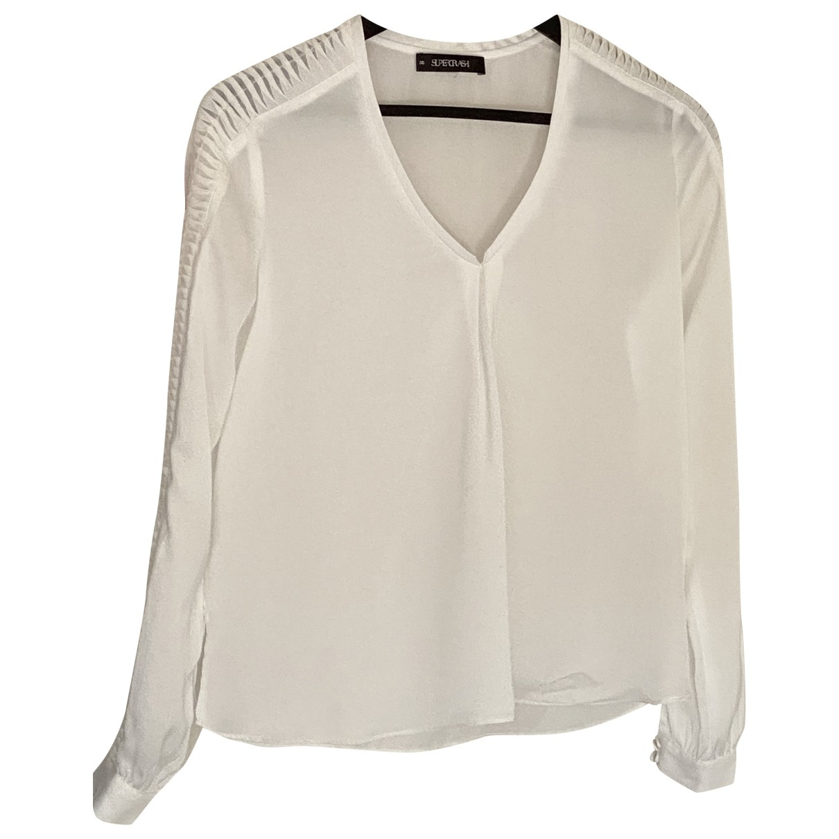 Supertrash \N White  top for Women 36 FR
