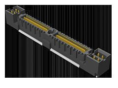 Samtec , QMS, 104 Way, 2 Row, Straight PCB Header (28)