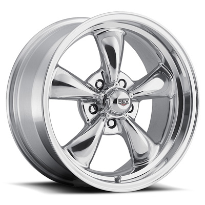 Classic 18X8 5X114.3 0MM 26 Lbs Polished Aluminum Wheels 100 Classic Series REV Wheels 100P-8806500