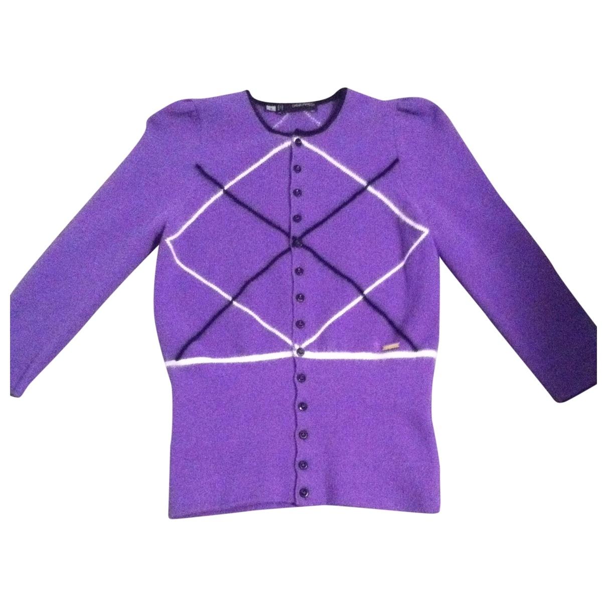 Dsquared2 - Pull   pour femme en laine - violet