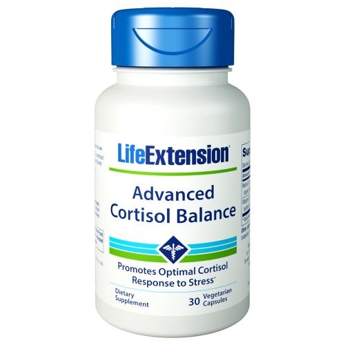 Cortisol-Stress Balance 30 Veg Caps by Life Extension