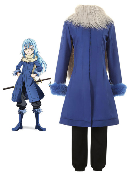 Milanoo That Time I Got Reincarnated As A Slime Rimuru Tempest Halloween Cosplay Costume