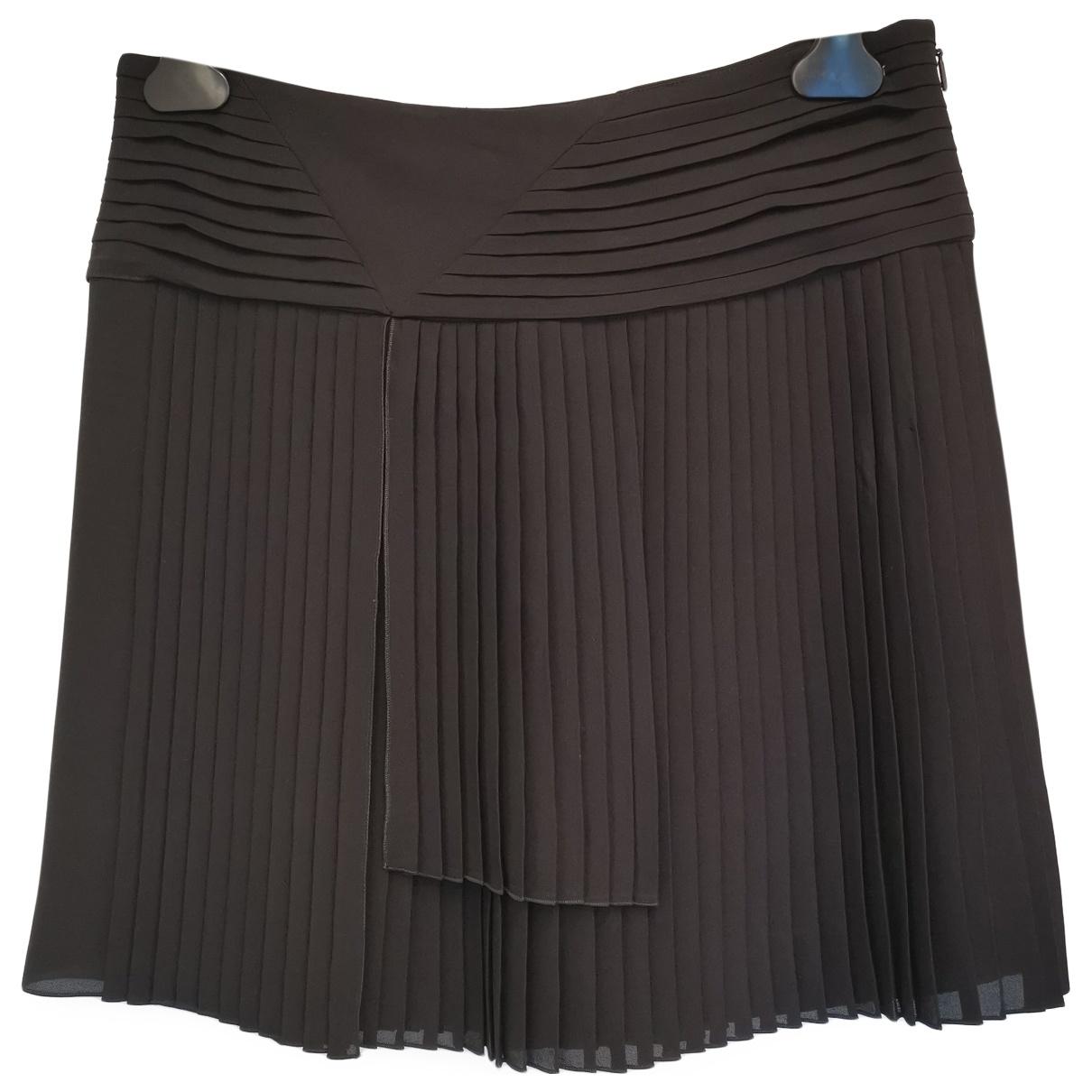 Gucci \N Black Silk skirt for Women 38 FR