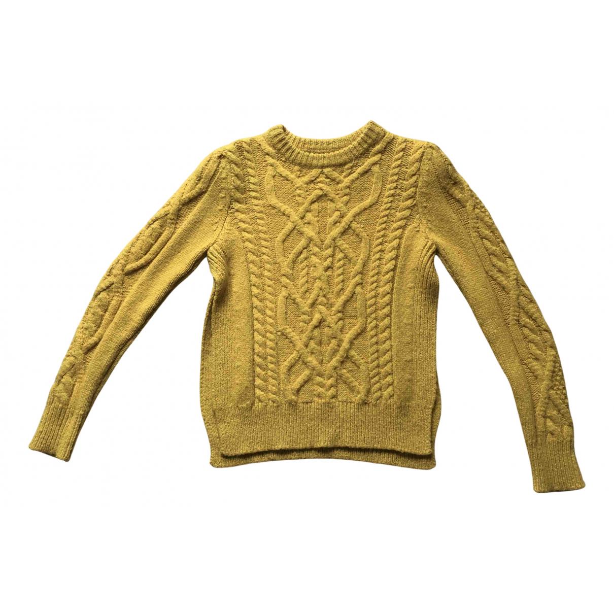 Isabel Marant - Pull   pour femme en laine - jaune