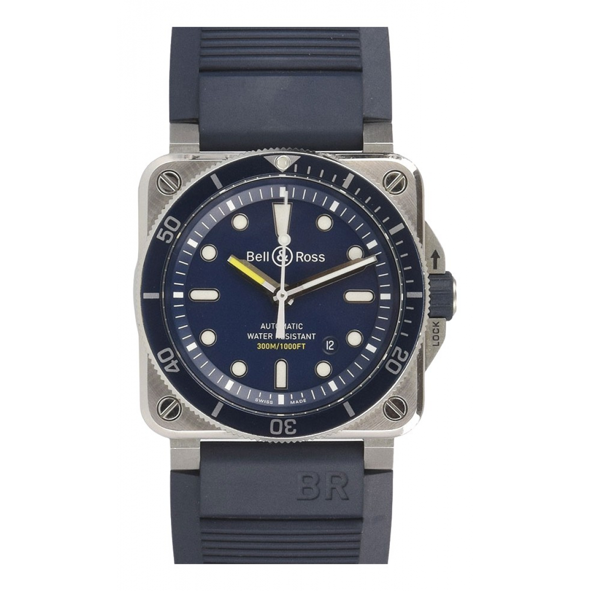 Bell & Ross BR03-92 Navy Steel watch for Men \N