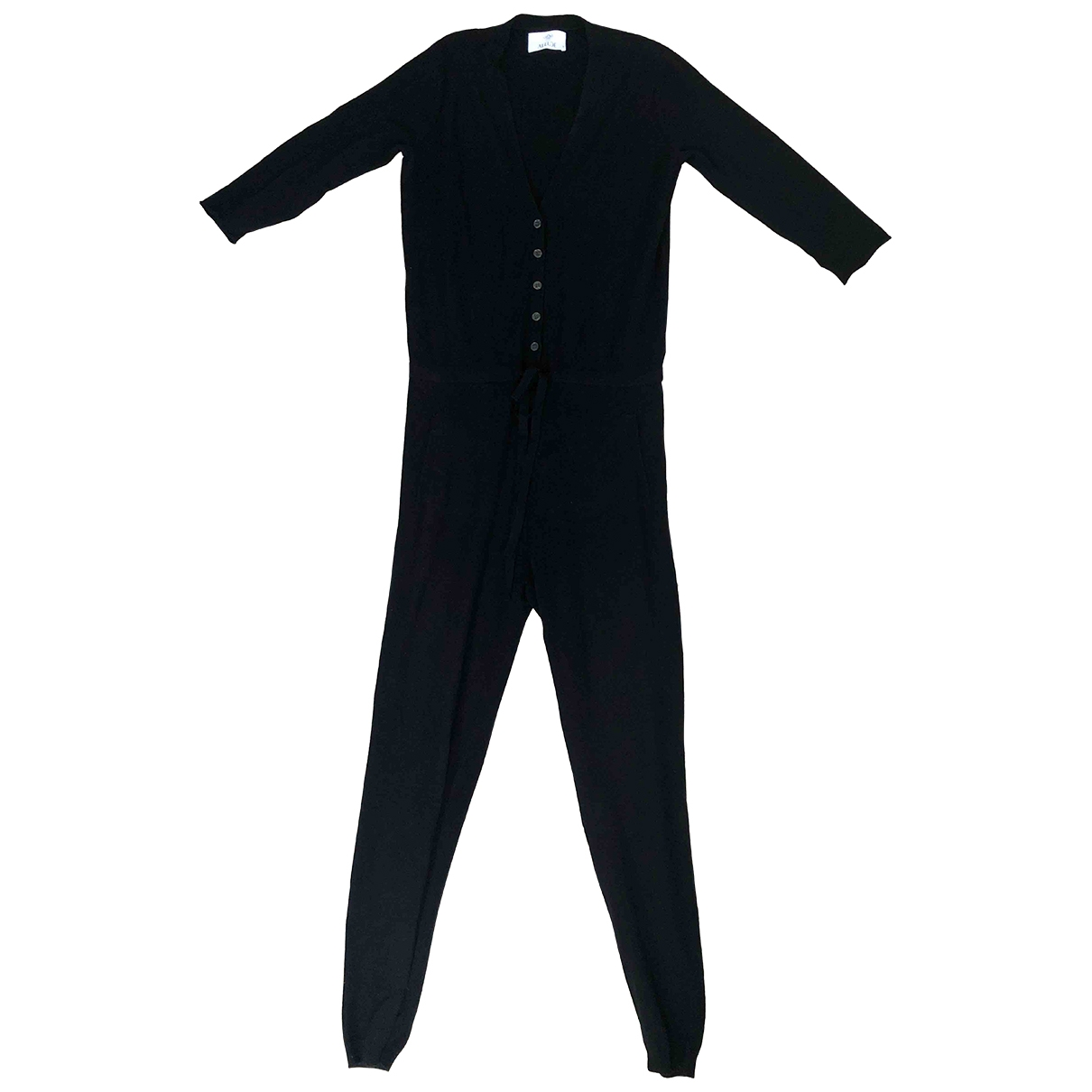 Allude \N Jumpsuit in  Schwarz Wolle