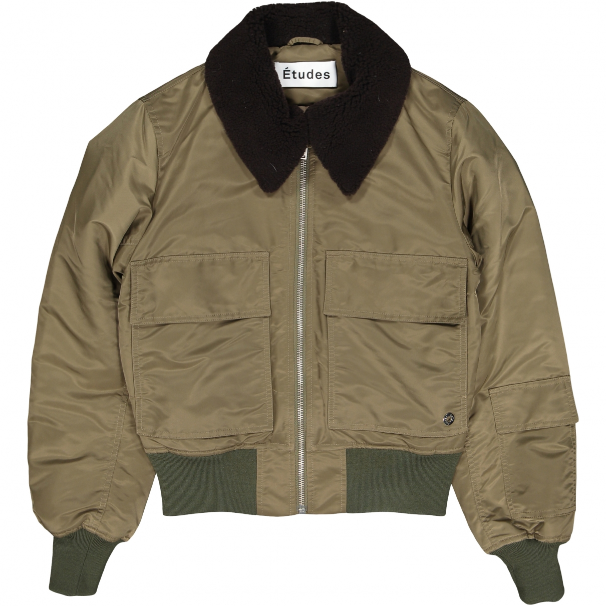 Études Studio \N Khaki jacket for Women 44 FR