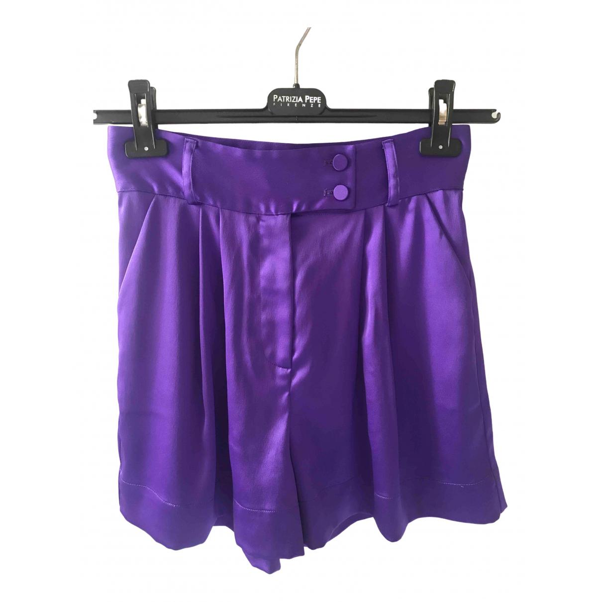 Styland \N Purple Shorts for Women 38 IT