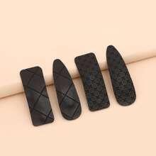 4 Stuecke Minimalistische Haarspangen