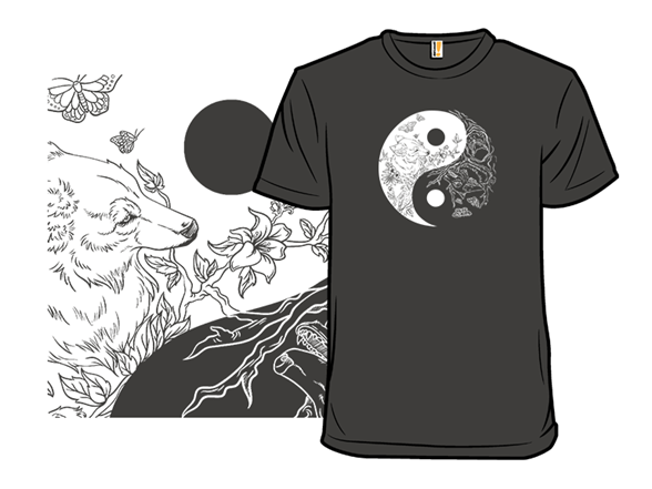 Night And Day Wolves T Shirt