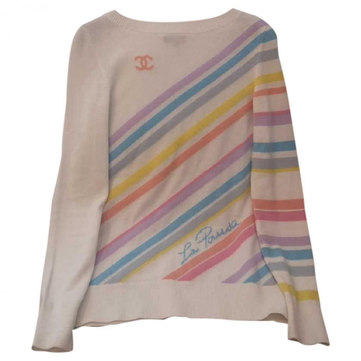 Chanel \N White Cashmere Knitwear for Women 34 FR