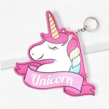 Llavero con diseño de unicornio