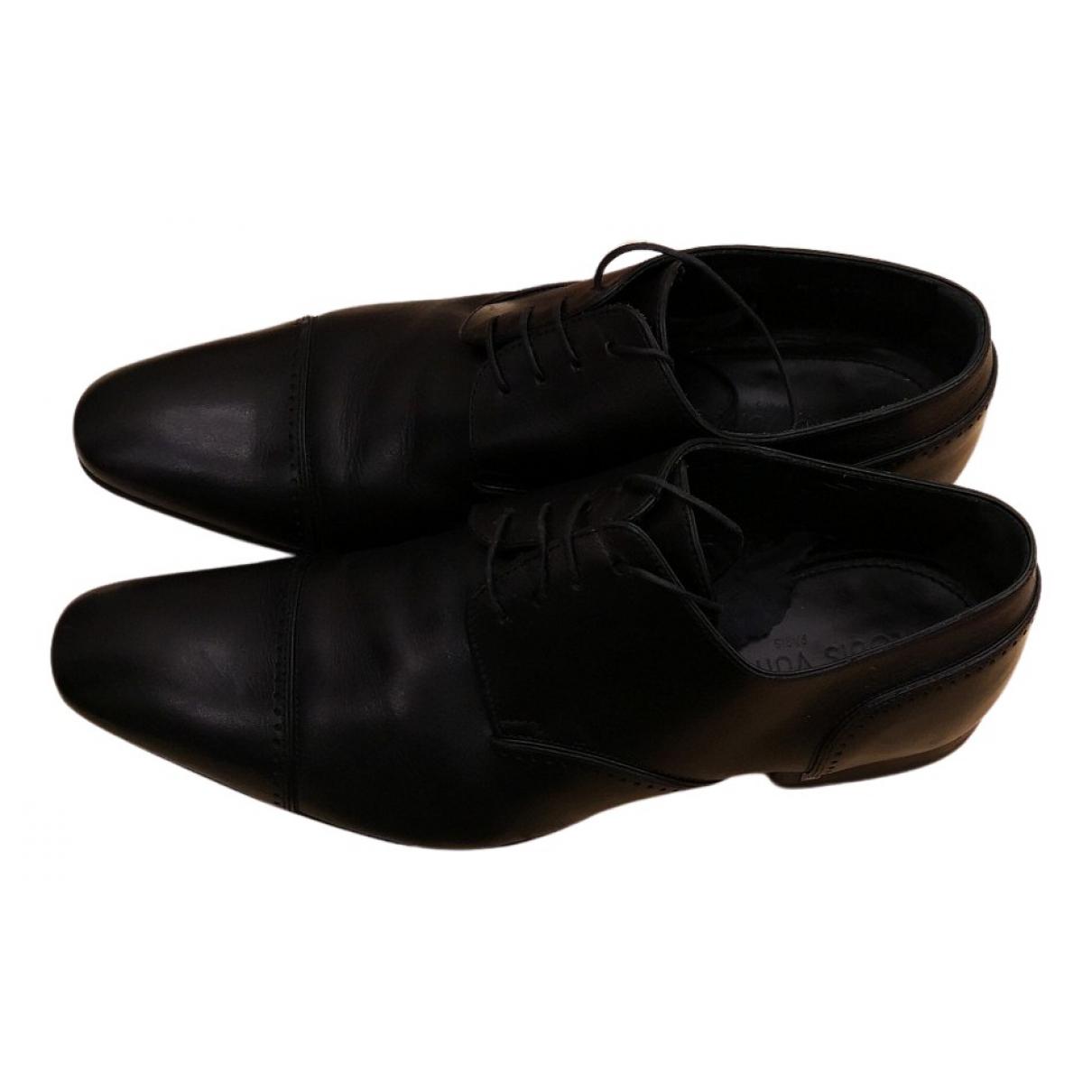 Louis Vuitton - Derbies   pour homme en cuir - noir