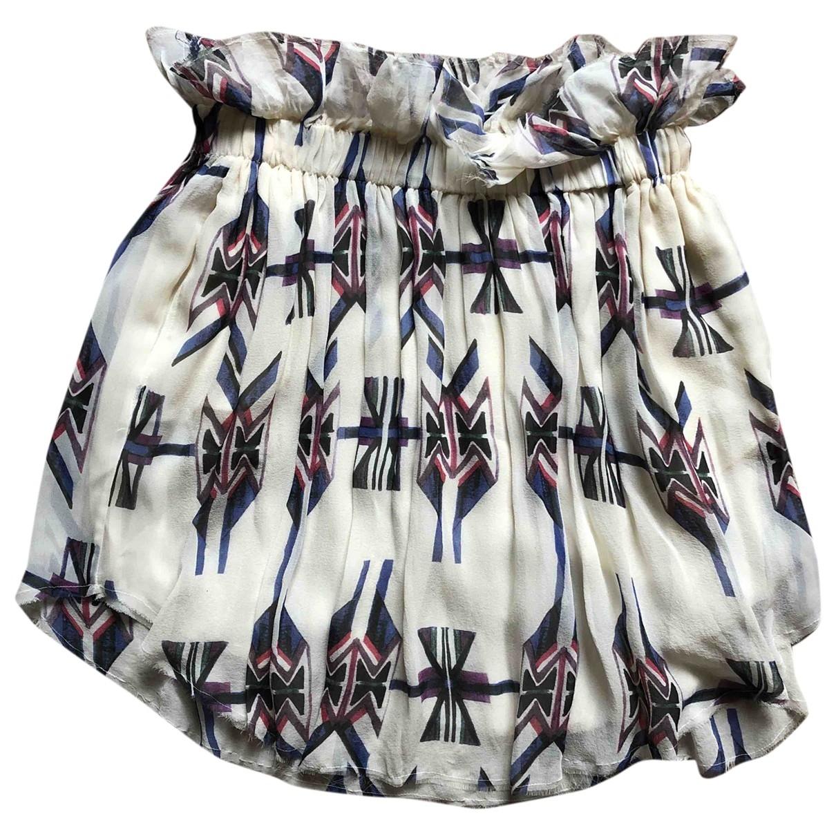 Mini falda de Seda Isabel Marant